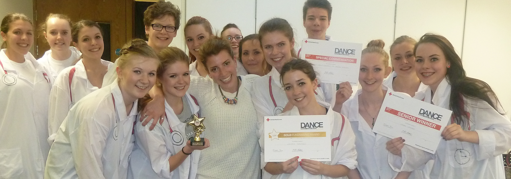 Red Cross Dance Competition Success