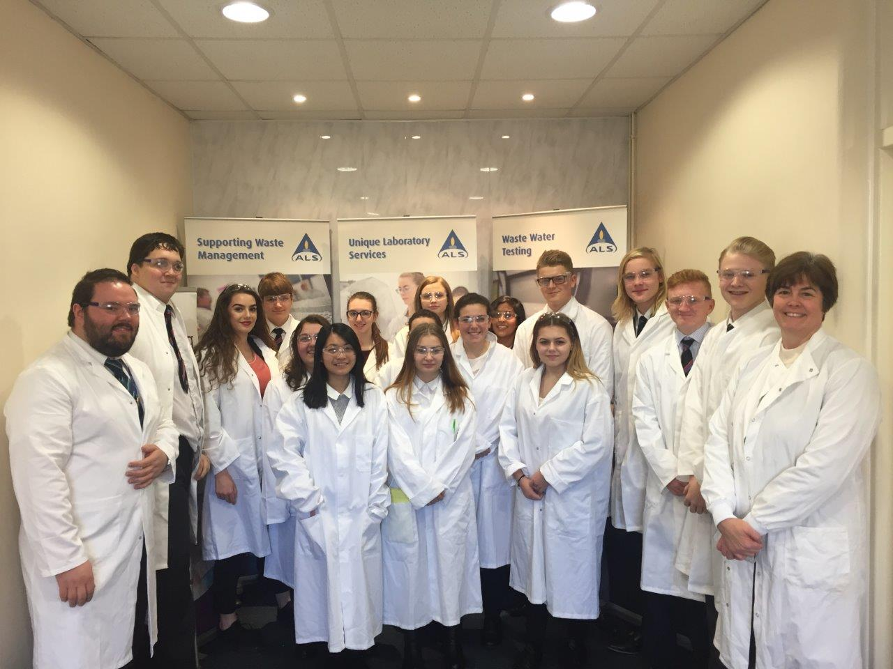 Year 12 Science Trip to ALS Environmental