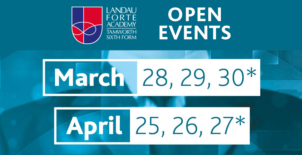 Open events for March and April 2017